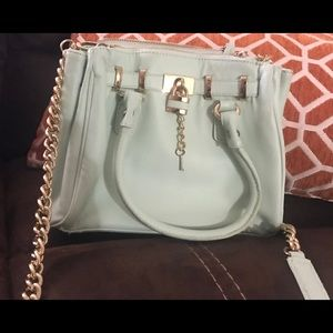Mint green ALDO S purse